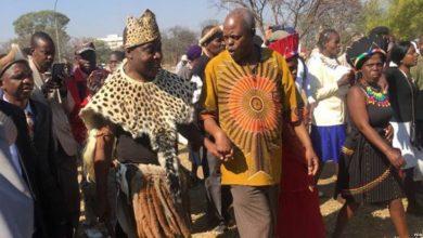 """Photo of Police block the coronation of """"Mzilikazi II"""""""