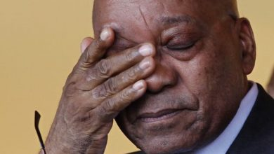 Photo of Watch Zuma as he hears that Ramaphosa is the new ANC president