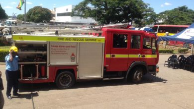 Photo of Fire scare at hero`s funeral service