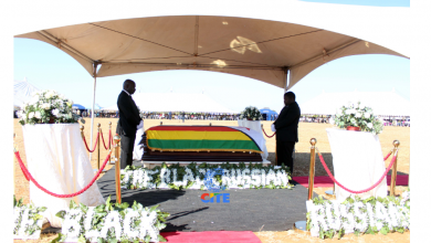 Photo of Dabengwa burial: A story of defiance