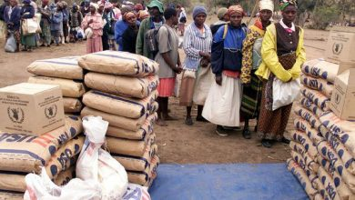 Photo of Ward 17 residents lament delay in food aid distribution