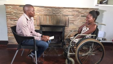 Photo of Mabhena fundraises for new wheelchair