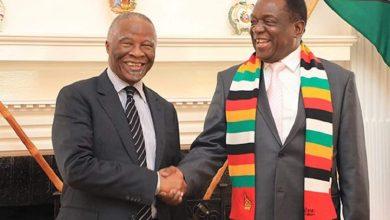 Photo of Mbeki not facilitating talks: Charamba