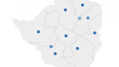 Photo of Zimbabwe COVID-19 Cases  Map
