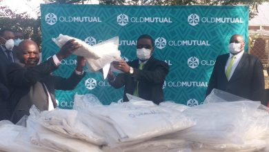Photo of Old Mutual donates PPE to Thorngrove Hospital