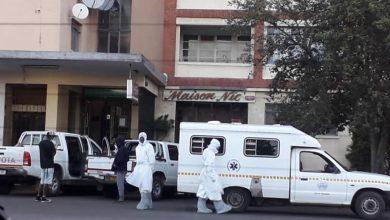 Photo of COVID-19 patient refuses to go into quarantine