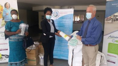 Photo of Ekusileni receives three portable ventilators