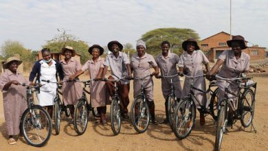 Photo of Hwange community health workers receive 50 bicycles to help in fight against Covid-19