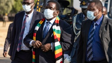 Photo of Mnangagwa in Bulawayo for third meeting with Mat Collective