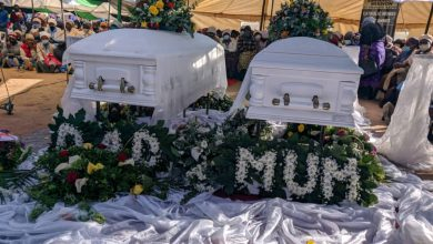 Photo of Slain Mangwe couple laid to rest